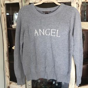 Victoria's Secret Angel knit sweater